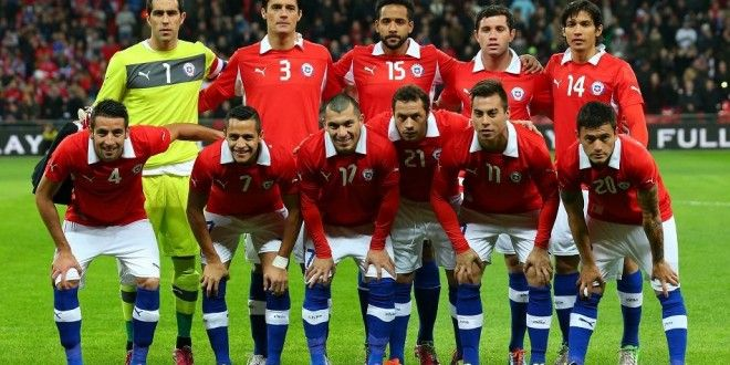 Chile Team Squad Line Up For Copa America Cup 2015