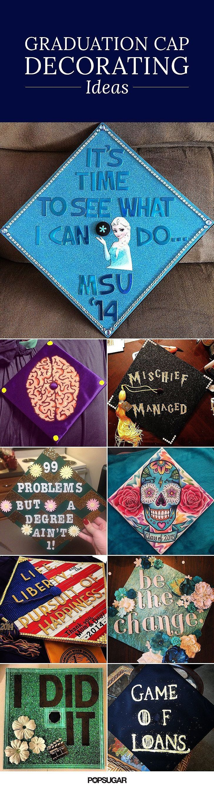 Free coloring pages graduation caps - 55 Creative Ways To Decorate Your Graduation Cap