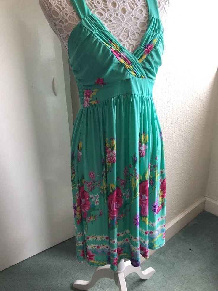 A.hu Fashion Summer Dress Size M    eBay