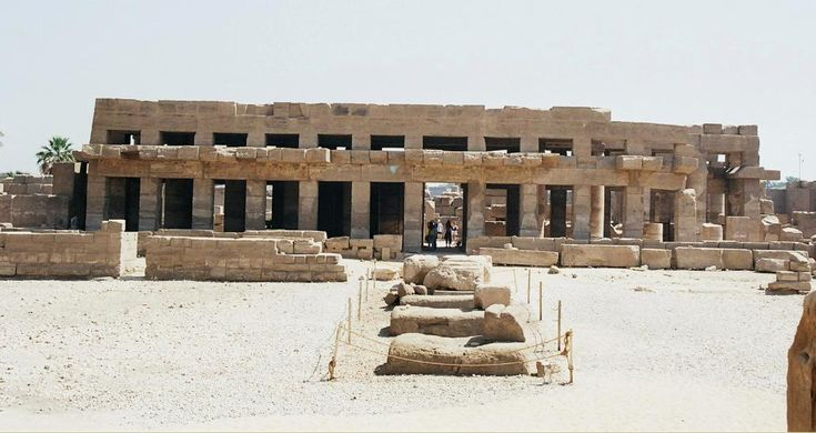 AkhMenou de Thoutmosis III, Temple d'Amon-Rê