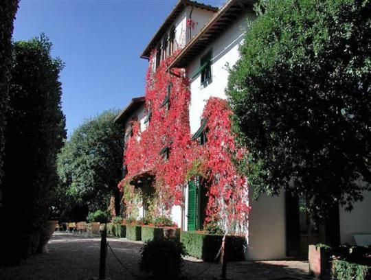 Villa le barone.  I love this hotel, and the location outside of Florence was perfect for our family in the extremely hot summer.  The evening Alfresco meal is wonderful, as well as the morning breakfast.  A great place to post yourselves in Tuscany.