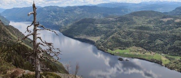 LÅRDALSTIGEN - ein tøff tur i Telemark