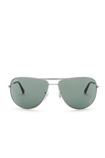 Image of Ray-Ban Women's Aviator Sunglasses