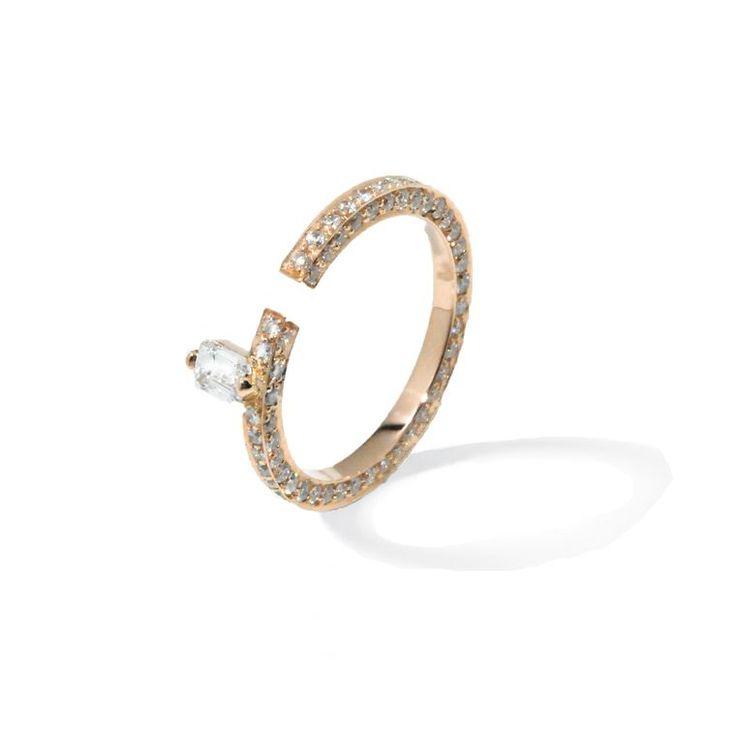 disruptive diamond solitaire engagement ring. Black Bedroom Furniture Sets. Home Design Ideas