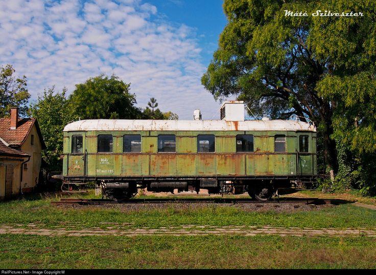 RailPictures.Net Photo: 395 Hungarian State Railways (MÁV) BCmot at Szentes, Hungary by Máté Szilveszter