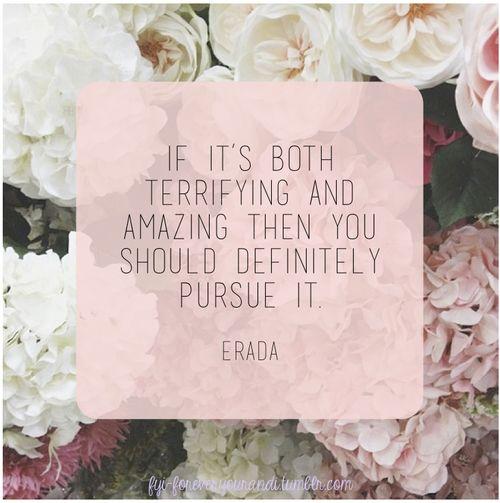 Pursue it.