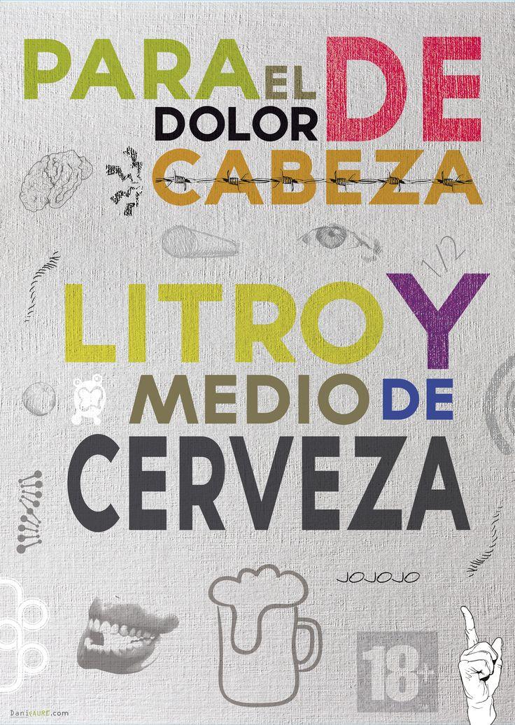 Cartel poster ''Litro y medio de cerveza''                                                                                                                                                      Más
