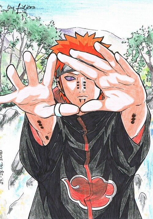 Pain will always be my favourite. Yeah he killed jiraiya, but I love him so much. He was a villain but with good morals unlike some who just kill for fun or because they have the power to do so. Favorite xx :)