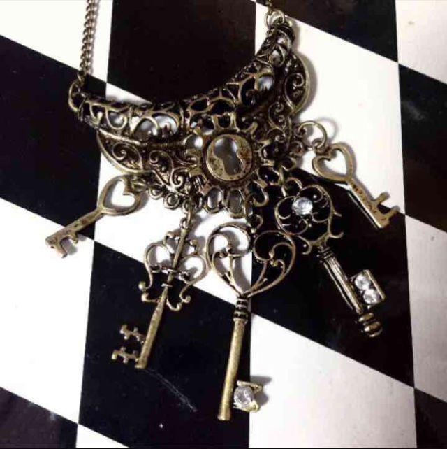 鍵の番人ネックレス | 夢見るギロチン アングラ・オカルトアクセサリーのお店