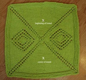 Free Pattern Mitered Dishcloth Knitting : 17 Best images about Knitted/Crochet Dishclothes on ...
