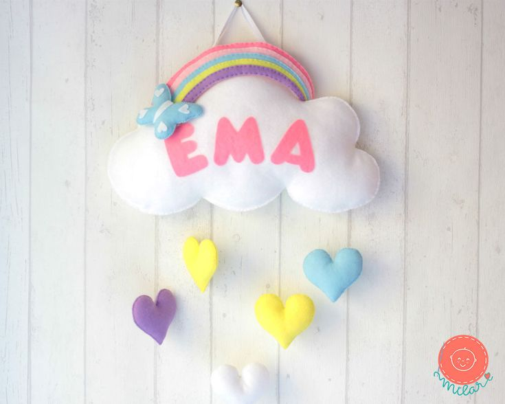 A personal favorite from my Etsy shop https://www.etsy.com/listing/538422720/baby-mobile-rainbow-mobile-baby-girl