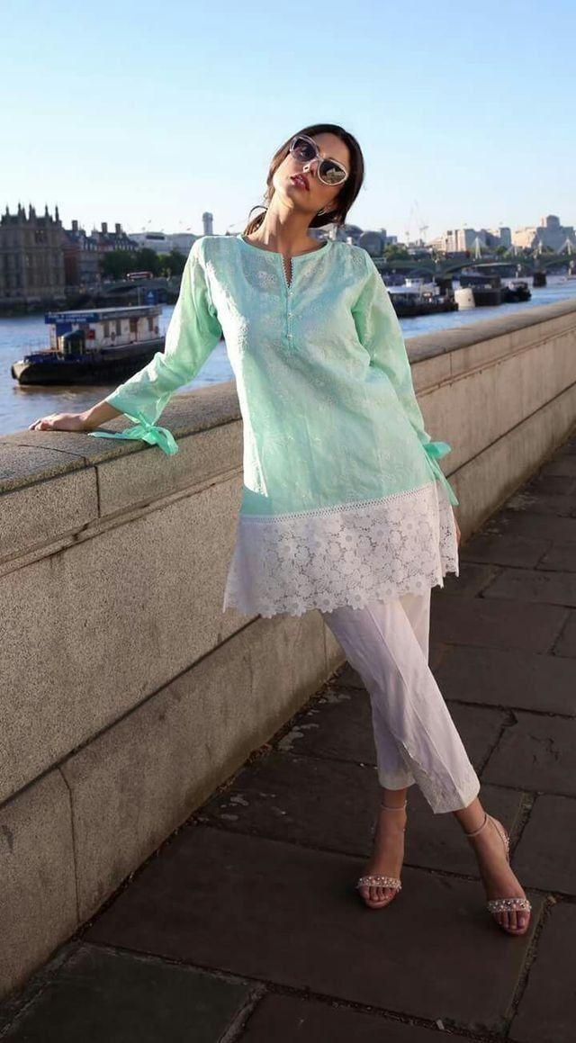 77b05c9ffa Pin by Suman Zulfiqar on Trend | Pakistani dresses, Dresses, Fashion dresses