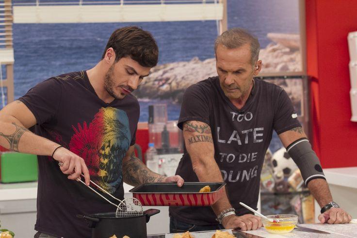 Άκης και Πέτρος στην κουζίνα του Πρωινού mou