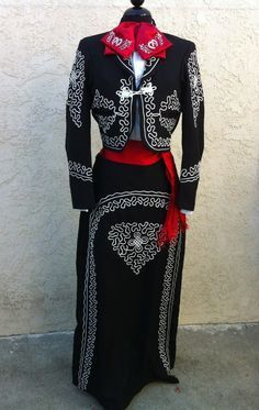 Mexican Charra Mariachi Suit Size 42 from Mexico 5 Pieceset Traje Charra TALLA42 | eBay