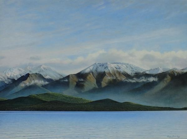 Te Anua Winters Morning / Acrylic