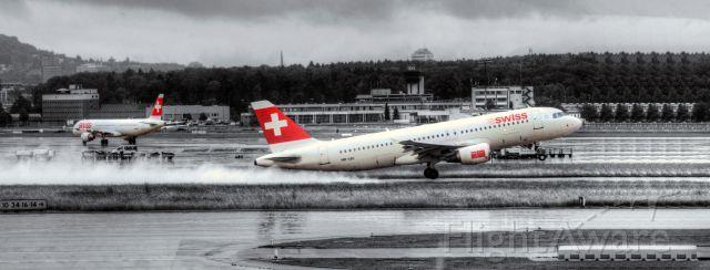 SWR Airbus A320 (HB-IJU)