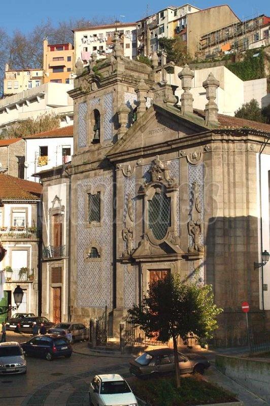 São Pedro de Miragaia Church in Porto.