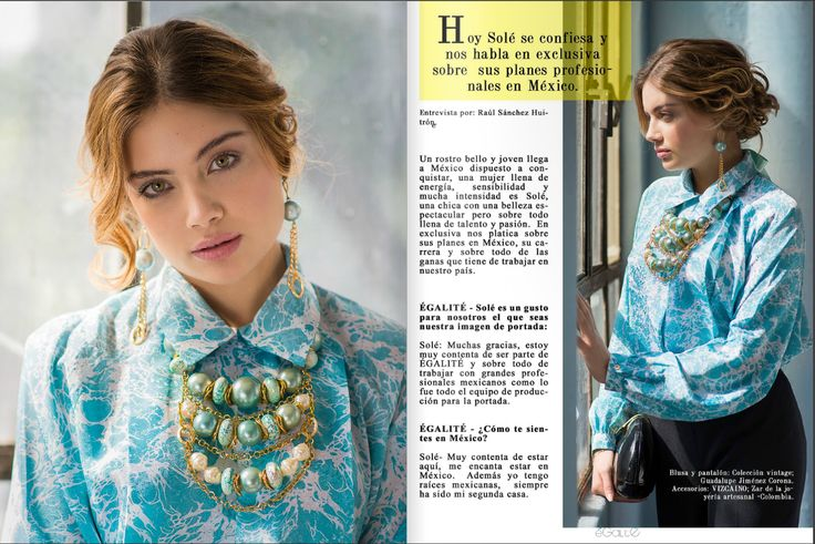 Egalite, Revista Internacional  Vizcaino Joyería https://www.facebook.com/vizcainodesigns