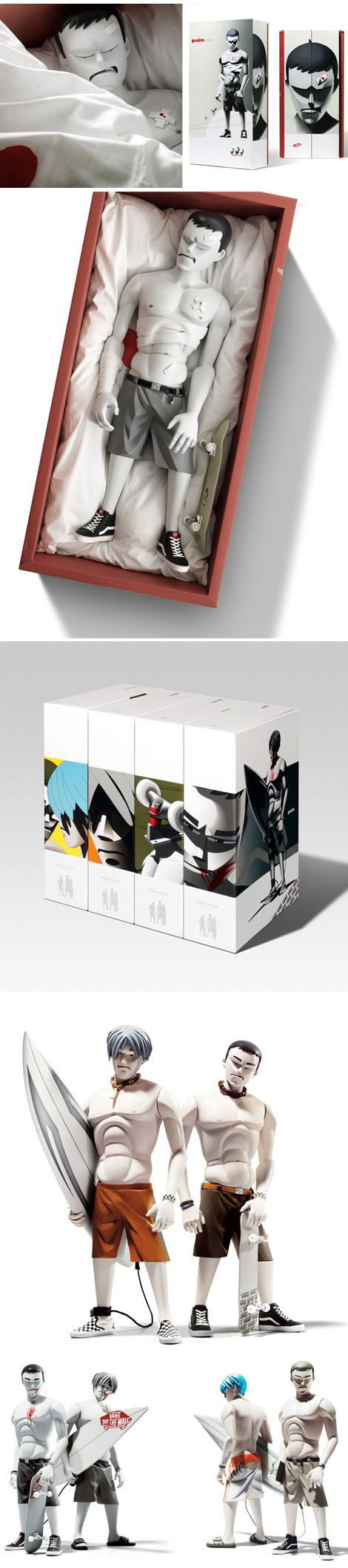 Coarse Toys / Love their toys & the packaging awesome!