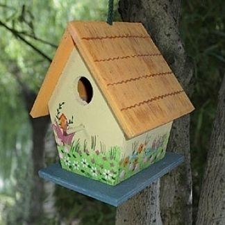 LA MAGIA DI UN PICCOLO ORTO: Casette per uccelli