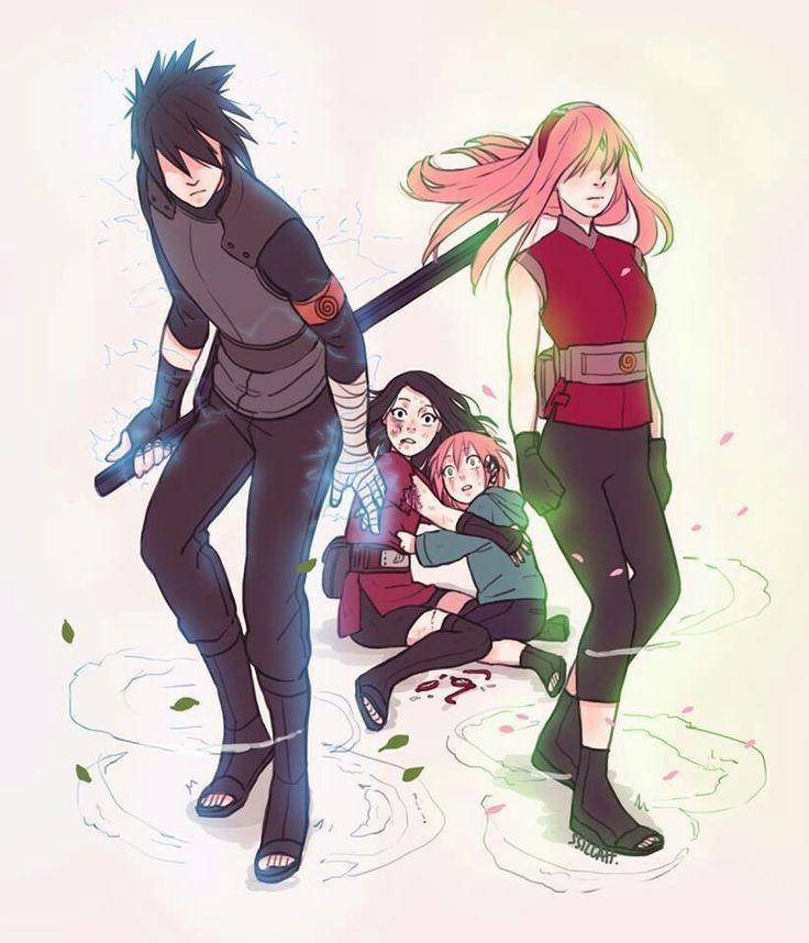 Think, that sasuke uchiha and naruto uzumaki family rather think