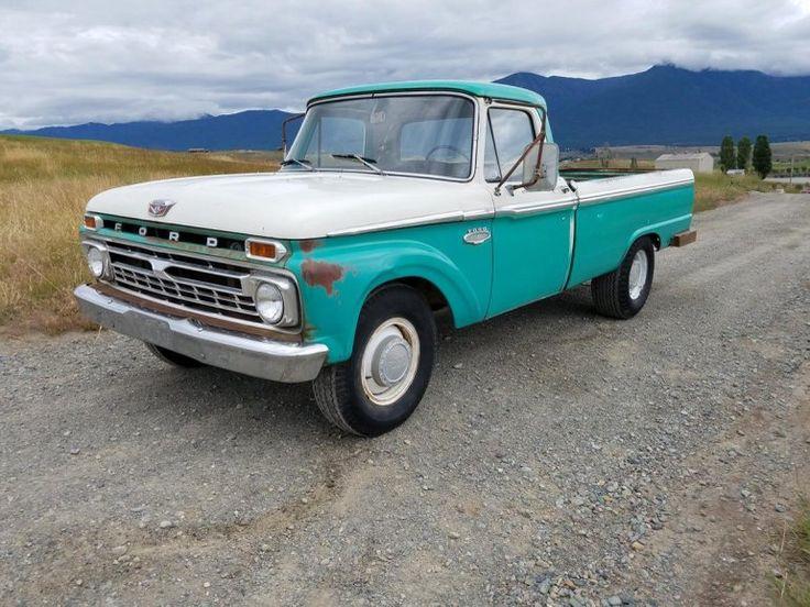 1966 Ford for Sale & 943 best Pickups Panels u0026 Vans (Original) images on Pinterest ... markmcfarlin.com