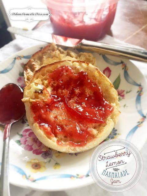 RECIPE: Strawberry Lemon Marmalade Jam