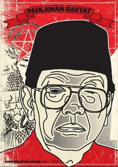 Pahlawan Rakyat- from grafisosial.org Graphic design for change in Indonesia