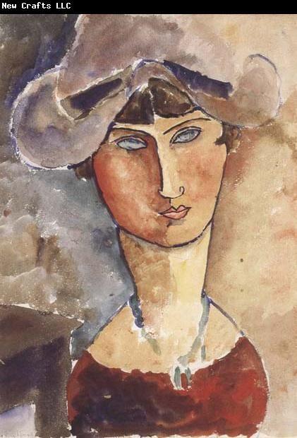 Amedeo Modigliani.                                                                                                                                                      More