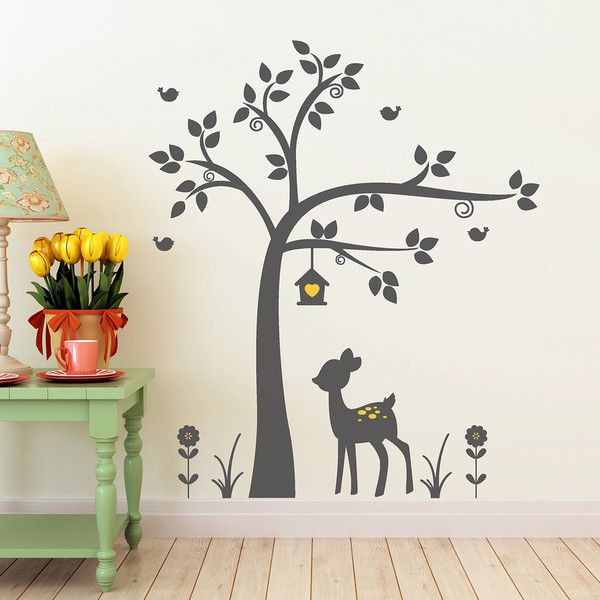 best 20+ wandtattoo baum kinderzimmer ideas on pinterest | baum, Schlafzimmer