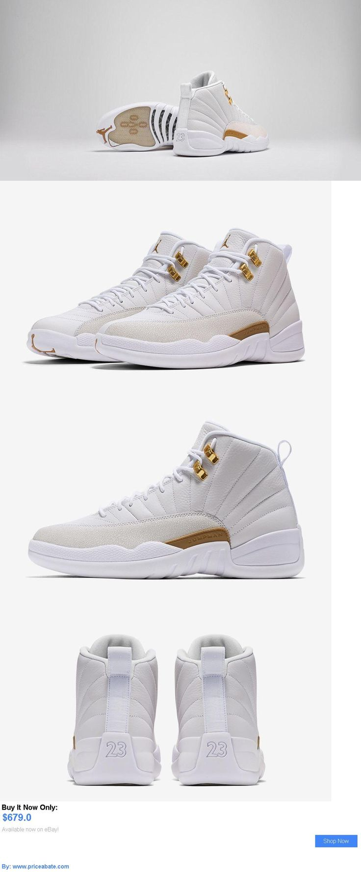 Men Shoes: Nike Air Jordan 12 X11 Ovo White Drake 2016 Mens Us Size 8 New BUY IT NOW ONLY: $679.0 #priceabateMenShoes OR #priceabate
