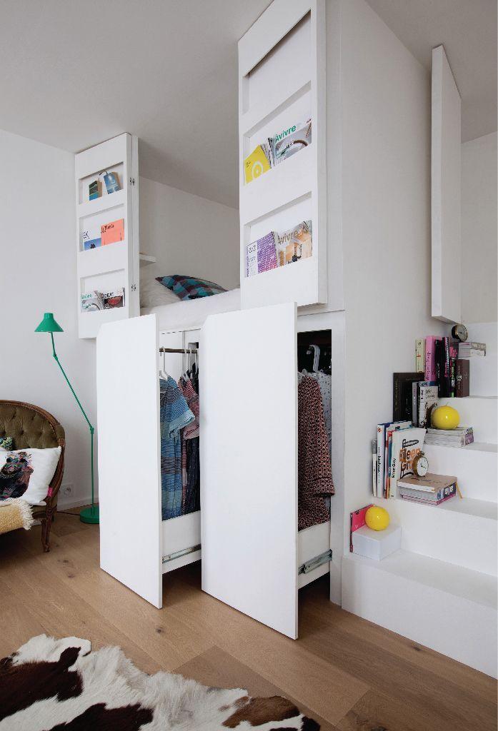 Le petit appartement parisien de deux architectes …