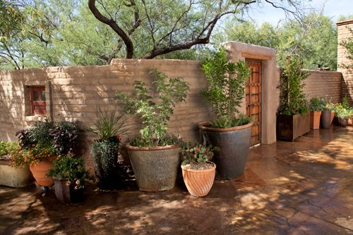 17 best images about adobe walled courtyard on pinterest