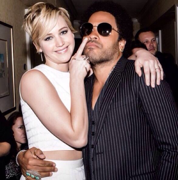 Zoe Kravitz Jennifer Lawrence Friends: Jennifer Lawrence. Lenny Kravitz.