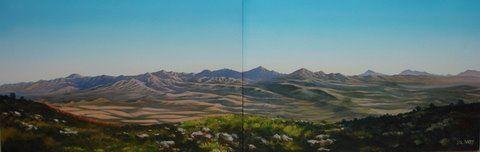 Lisl BARRY - Oil on Canvas