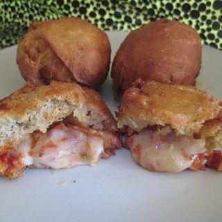 Deep Fried Pizza Donuts