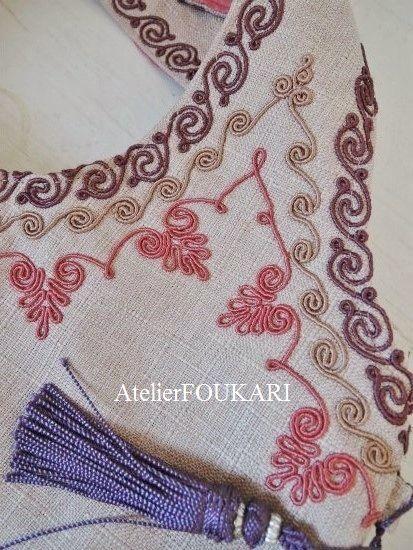 モロッコ刺繍バッグ-フランボワーズの商品ページです。人気のモロッコ刺繍バッグ、大人っぽい3連刺繍が美しい新作が入荷しました!