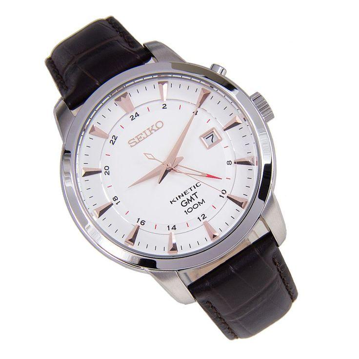 Sports Watch Store - Seiko Kinetic GMT Watch SUN035P1, SGD247.21 (http://www.sports-watch-store.com/seiko-kinetic-gmt-watch-sun035p1/)