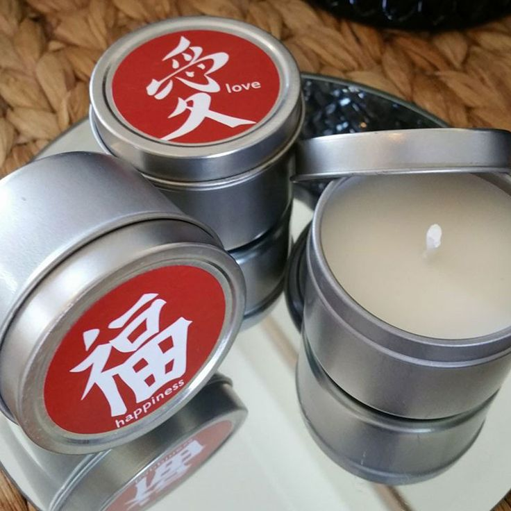 100 x Wedding Candle Favours 'Love' & 'Happiness' - 2oz