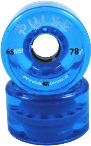 Atom Pulse Blue Quad Outdoor Roller Skate Wheels - 78A Hardness for Roller Derby & Outdoor Skates by Atom Wheels. $30.00. Atom Pulse Blue Quad Outdoor Roller Skate Wheels - 78A Hardness for Roller Derby & Outdoor Skates - Outdoor Roller Derby Speed Skating Replacement Wheels - Be sure to try out the best selling outdoor wheels available today from Atom Wheels - the Atom Pulse Outdoor Wheels! Atom Pulse outdoor wheels feature an ultra high quality 78A urethane formed in an ...