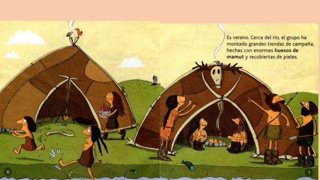 Infantil De Gracia Nuestras Pieles Prehistoricas La Vestimenta Y Las Chozas Prehistoricas Piel Vestimentas