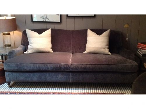 London 87 Quot Sofa In Boulevard Graphite By Mitchell Gold And