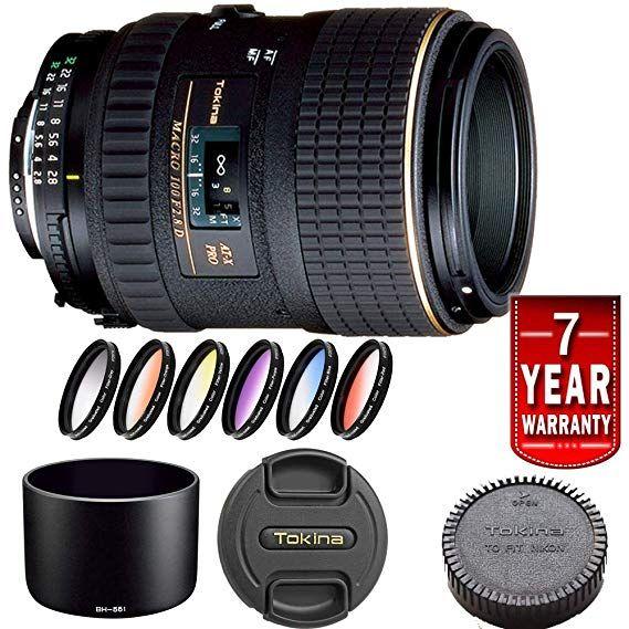 Tokina 100mm F 2 8 At X M100 Af Pro D Macro Autofocus Lens Nikon Kit Autofocus Macro Lens