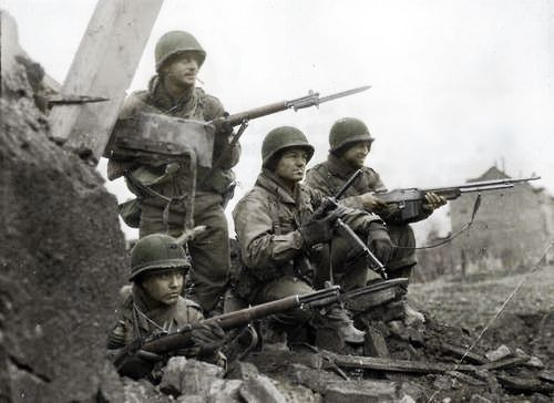 a history of the battle of the bulge in world war ii The battle of the bulge was the bloodiest the united states would fight in world  war ii, with 19,000 american soldiers dead by the time the allies had  corps  and distributed to the american public to tell the story of the battle.