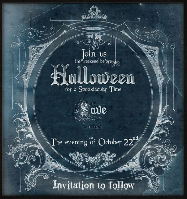halloween save the date party invitation halloween invites for perfect summer days definitly one for d mak - Halloween Date This Year