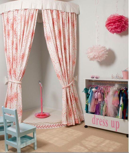 kids bedroom girl bedroom performance area