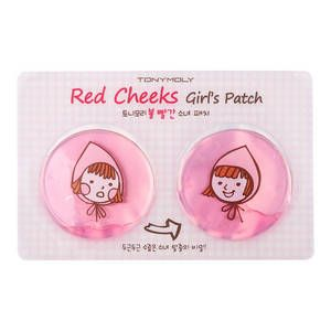 TONYMOLY-Red Cheeks Girl's Patch - Patch Hydratant Joues