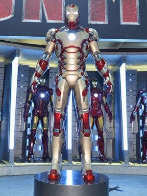 The new Iron Man 3 suit (Photo: Walt Disney Pictures)