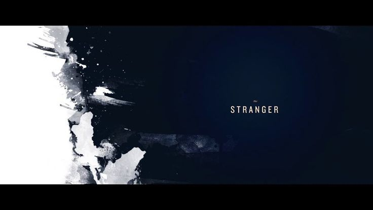 [Title Sequence] The Stranger on Vimeo