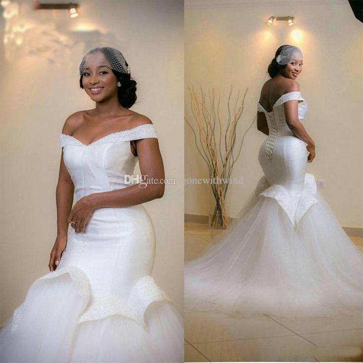 Train Bridal Nigeria Dresses